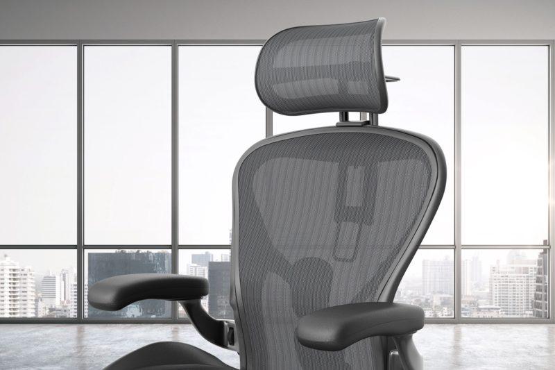 zagłówek do fotela biurowego Aeron